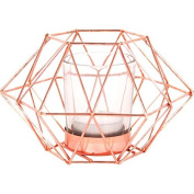 "Jones Home and Gift ""Octagonal Geometric"" Candle Holder, Multi-Colour"