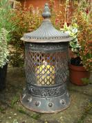 Antique Vintage Style Moroccan Large Garden Lantern Candle Holder Indoor Outdoor