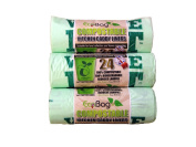 Eco Bag 24 Compostable Caddy Liners 10L