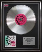 BLINK 182/LTD EDITION CD PLATINUM DISC/BLINK 182
