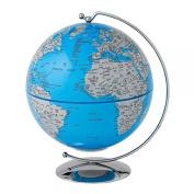 Globe Collection A27303 Blue Light-Up Globe 13cm