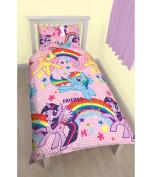 My Little Pony Single Duvet Set Pink Reversible