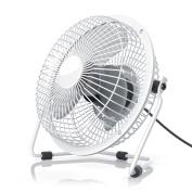 CSL - desk-fan / Fan | metal frame / fanblades | for PC / Notebook | compatible Windows / Apple | colour