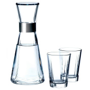 Rosendahl Grand Cru 25143 Water Carafe and Two Glass Tumblers, 0.9 Litre