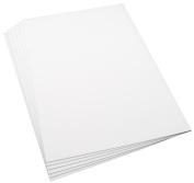 Plasticard 6 Sheets of 0.75mm Matt White Styrene, Size A4+ 220mm x 325mm