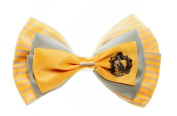 Harry Potter Hufflepuff Crest . Hair Bow Tie Clip