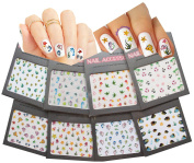 Sea World Nail Art 3D Stickers Decals, Set of 8