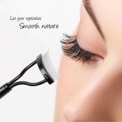 Docolor Eyelash Comb Curlers Makeup Mascara Applicator Eyebrow Grooming Brush Tool
