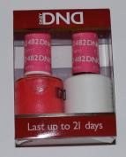 DND (Gel & Matching Polish) 482 - Charming Cherry