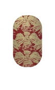 Minx Nails Hark the Angels Nail Decals Metallic Gold and Red
