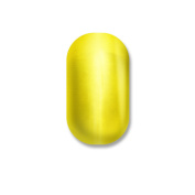 Minx Nails Aren't You a Ray of Sunshine Nail Decals Metallic Chrome Yellow