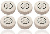 Hermes eau d'Orange Verte Pleated 50 gramme soaps - Set of 6