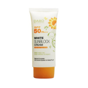 White Sunblock Cream SPF 50 PA+++ Natural Complex Oil Control System Water Proof
