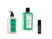 Bath & Body Works - C.O. Bigelow - MENTHA - 3 PC set - Body Lotion, Vitamin Body Wash & Lip Balm Stick