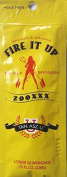 Lot of 5 Fire It Up Hot Bronzer Tanning Lotion Packets