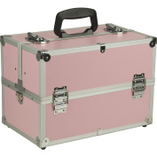 Hiker Professional Artist Train Makeup Case, Smooth Pink