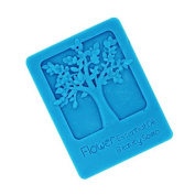 Pinkie Tm 4 cell tree silicone mould soap,fondant candle moulds,sugar craft tools, chocolate moulds ,silicone moulds for cakes,form for soap