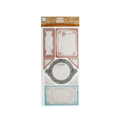 JT Scrapbooking Timeless Self-Adhesive Cardstock Journaling Pieces - 24 Pack
