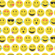 Jillson Roberts 6-Roll Count All-Occasion Gift Wrap, Emojis