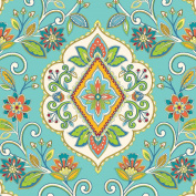 Jillson Roberts Designer Printed Tissue, Floral Tapestry, 24-Sheet Count