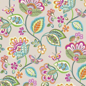 Jillson Roberts 6-Roll Count All-Occasion Floral Gift Wrap, Vintage Wallpaper