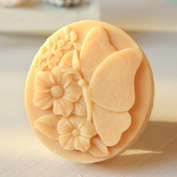 Grainrain Butterfly Flower Soap Making Mould DIY Handmade soap moulds Craft Art Silicone Soap moulds