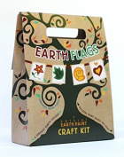 Natural Earth Paint 156 Earth Flags Craft Kit - Pack of 6