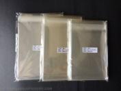 300 Pcs Clear Resealable Cello Cellophane Bags : 3 sizes. 100 each