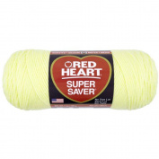 Red Heart Yarn Super Saver 0322 Pale Yellow 210ml