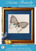 Marine Butterfly Needlework Embroidery Kit
