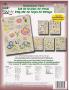 1014 Wildflowers & Critters Resuable Painting Teaching Guides Worksheet Packs