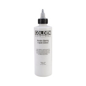 Acrylic Paint,Golden Acrylic Glazing Liquid Gloss - 240ml Bottle