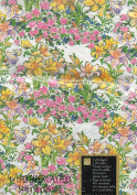 Paper Tablecover, Lilly Garden Chesapeake 140cm x 240cm