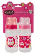 Cudlie! Baby Bottles, Pink