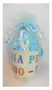 BOY nappy DOO-TY TOOL BELT DAD BROTHER SISTER GRANDPA BABY SHOWER GAG GIFT
