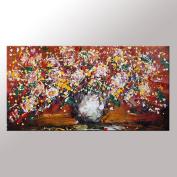 Flower Painting, Abstract Wall Art, Modern Art, Canvas Art, Canvas Painting, Large Art, Original Painting, Large Wall Art, Abstract Painting, Abstract Art, Canvas Wall Art, Living Room Wall Decor