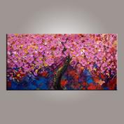Flower Tree, Abstract Wall Art, Modern Art, Canvas Art, Canvas Painting, Large Art, Original Painting, Large Wall Art, Abstract Painting, Abstract Art, Canvas Wall Art, Living Room Wall Decor