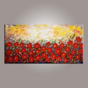 Flower Painting, Abstract Wall Art, Modern Art, Canvas Art, Abstract Art, Canvas Wall Art, Living Room Wall Decor, Canvas Painting, Large Art, Original Painting, Large Wall Art, Abstract Painting