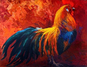 Modern Canvas Wall Art for Home and Office Decoration Oil Painting Print Art Animal on Canvas,strutting-his-stuff--rooster,60cm X 80cm ,canvas Prints Giclee Artwork for Wall Decor MRR137