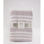Viole Separates Chenille Stripe Knitted Blanket Colour