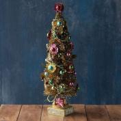 Gold Starburst Foil Tree