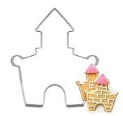 4 Pcs Packed Palace Stainless Steel Cookie Dessert Cake Cutter DIY Mould