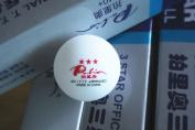 PALIO NEW Material 40+ 3STARS ITTF SEAMLESS TABLE TENNIS WHITE BALLS 6pcs /item# R6SG5EB-48Q23318