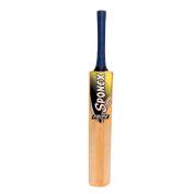 Sponex Cricket Bat Tennis Kashmir Willow Bat Tape Ball Long Handle Bat with Cover
