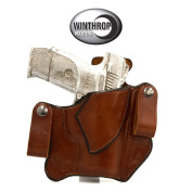 Ruger S40C IWB Dual Snaps Holster R/H Brown 0554