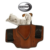 Ruger SR9C IWB Dual Spring Clip Right Hand Brown 0418