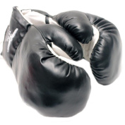 AGE 3-6 KIDS 120ml BOXING GLOVES YOUTH practise TRAINING MMA Faux Leather Black