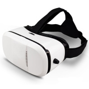 Indigi® New VR6 Virtual Reality Viewer Android Galaxy iOS Compatible 11cm - 15cm
