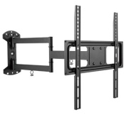 Mount-It! MI-3991XL Wall Mount Bracket with Full Motion Articulating Arm 60cm Extension for 26-140cm LED, LCD OLED TVs, VESA 400x 400