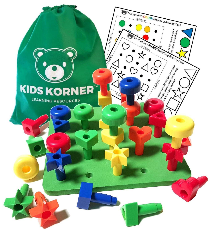 783f98a6bab8 Kids Korner Building Peg Board